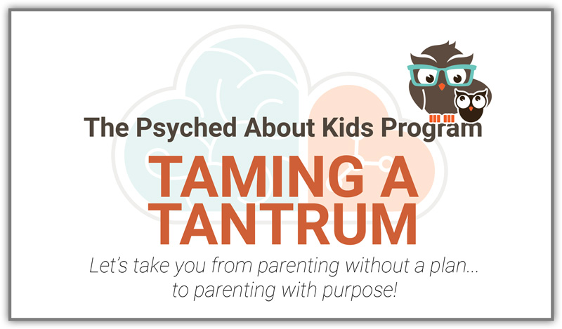 Taming a Tantrum Program